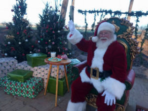 Sweet Eats Fruit Farm Santa | Austin Holiday Activities
