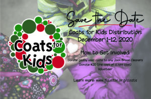 Coats for Kids Save the Date for December 1 thru 12