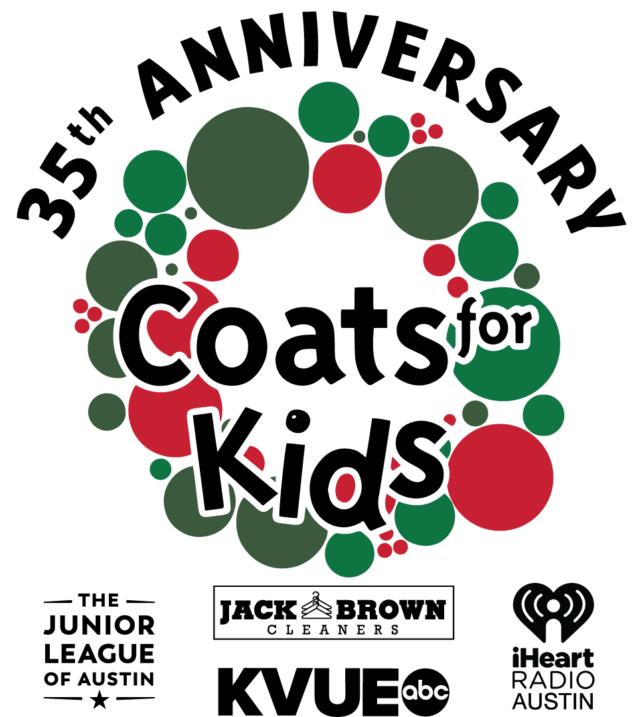 35th anniversary coats for kids logo