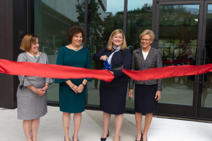 JLA Executive Board members cut ribbon at grand opening of Community Impact Center