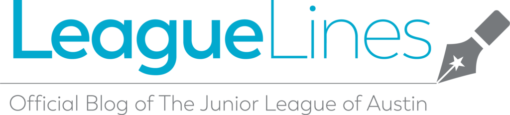 Logo for LeagueLines; the official blog of the Junior League of Austin