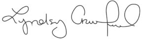 Signature of the President, Lyndsey Crawford
